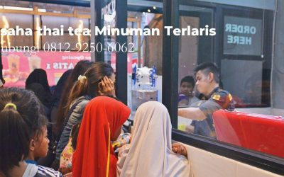 Omset Mencapai Ratusan Juta! Inilah Usaha Thai Tea ENAK Indonesia