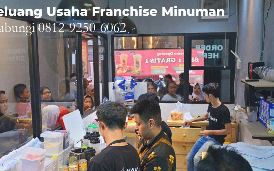 Peluang bisnis franchise Minuman yang selalu menjadi trend setiap Tahun